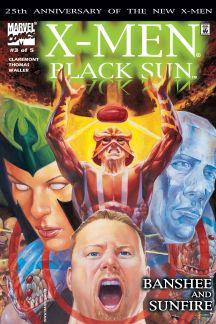 X-Men: Black Sun (2000) #3 cover