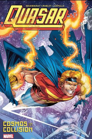 Quasar: Cosmos in Collision (Trade Paperback)