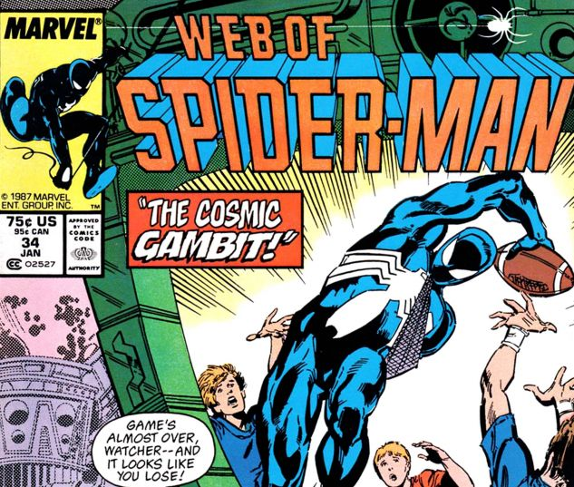 Web of Spider-Man (1985) #34