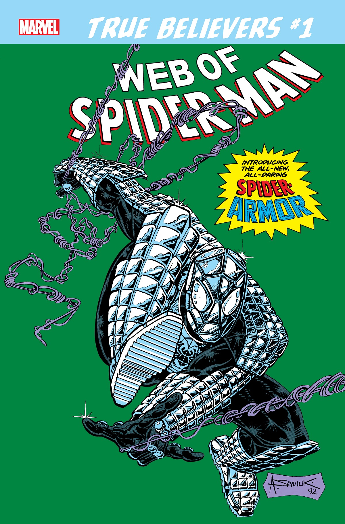 True Believers: Spider-Man - Spider-Armor (2019) #1