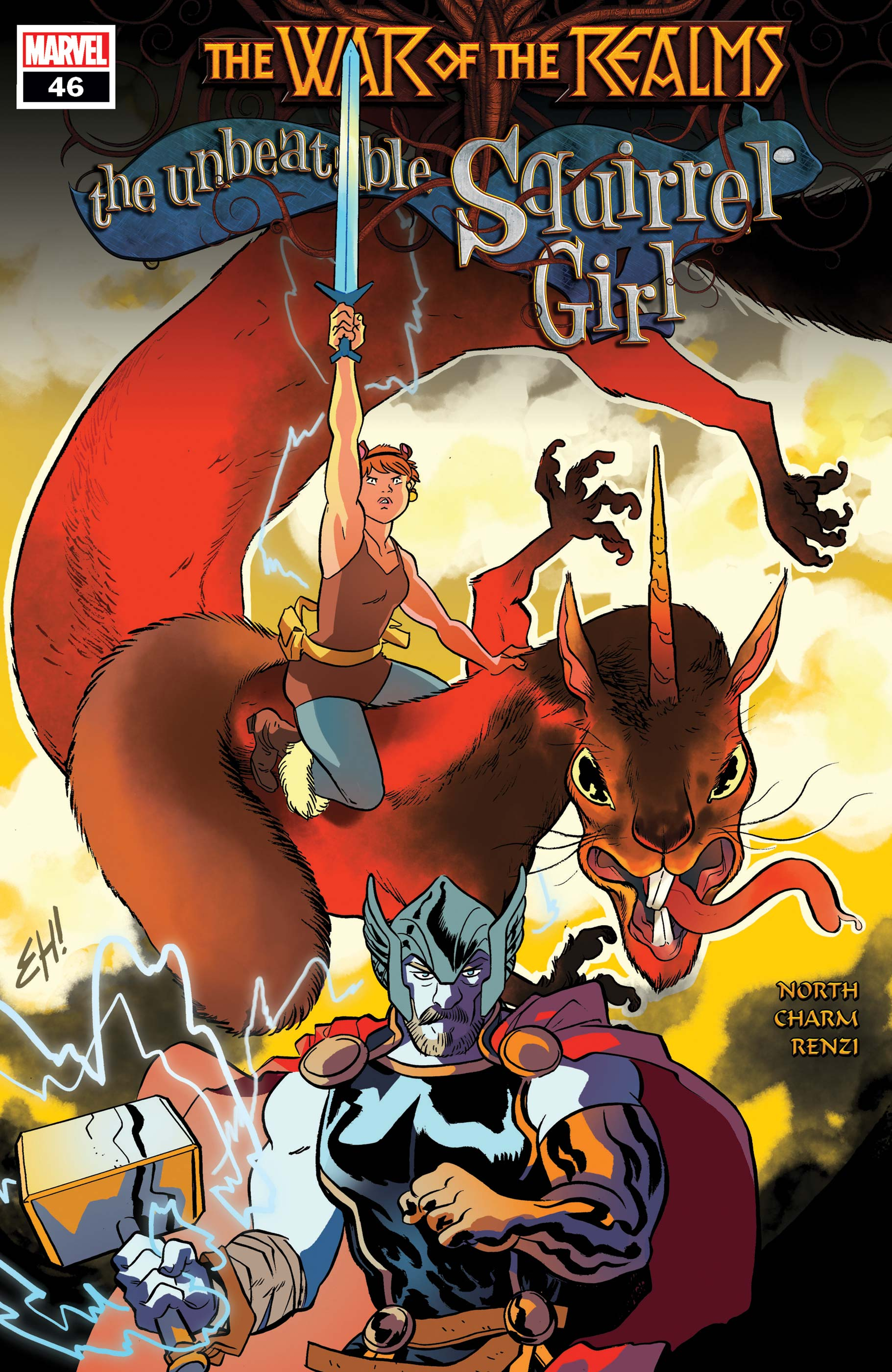 The Unbeatable Squirrel Girl (2015) #46