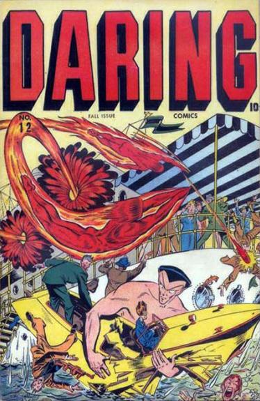 Daring Comics (1940) #12