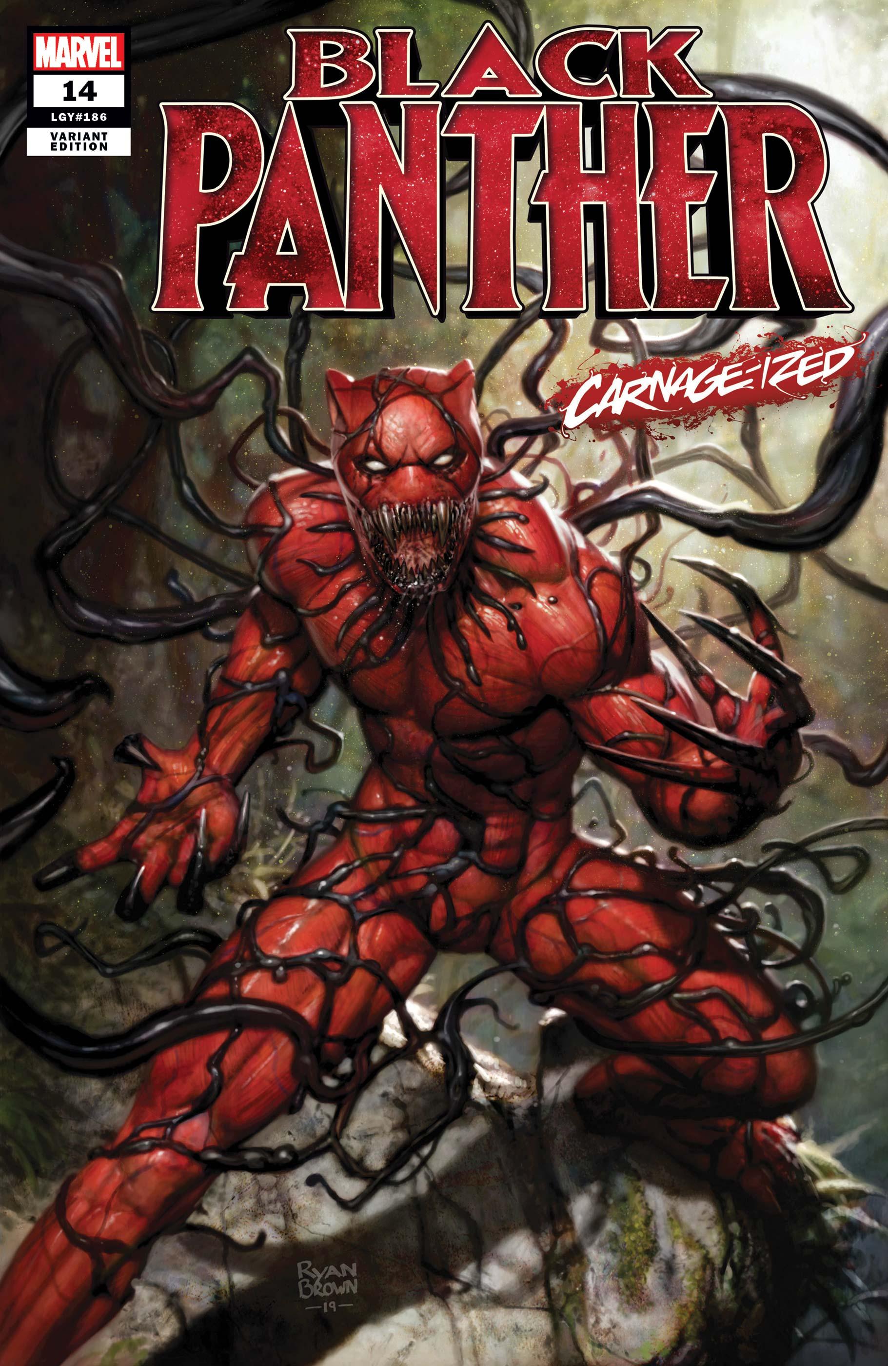 Black Panther (2018) #14 (Variant)