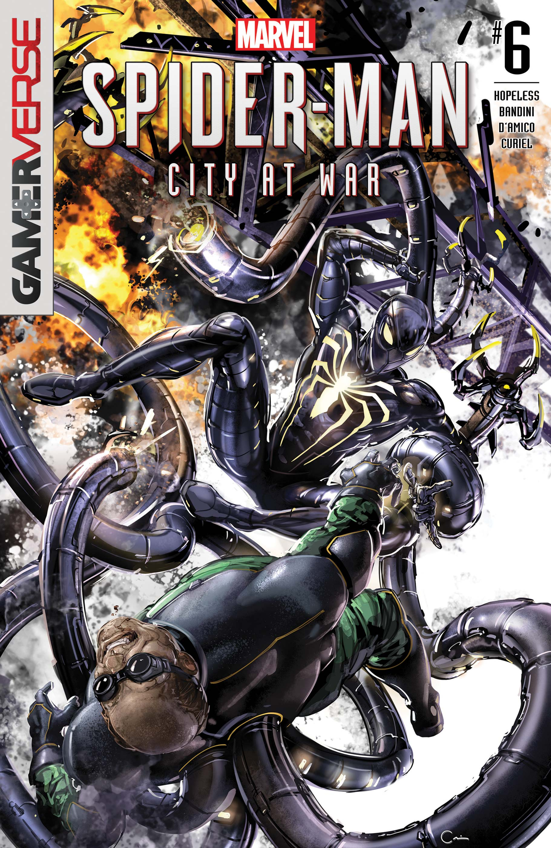 Marvel's Spider-Man: City at War (2019) #6