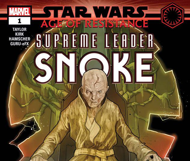 STAR WARS: AGE OF RESISTANCE - SUPREME LEADER SNOKE 1 #1