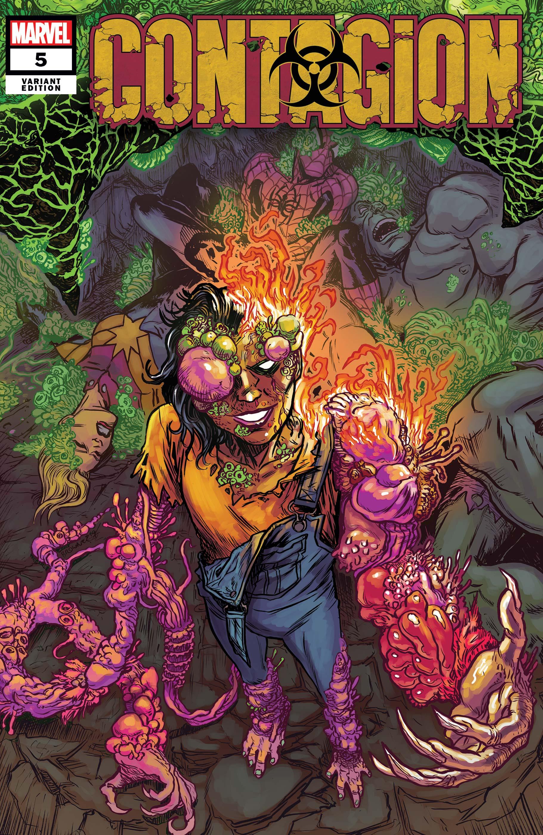 Contagion (2019) #5 (Variant)