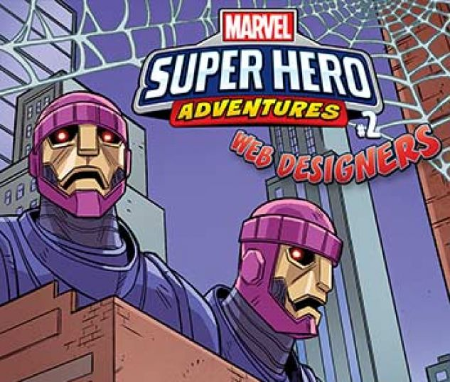 cover from Marvel Super Hero Adventures: Spider-Man - Web Designers Infinite Comic (2019)