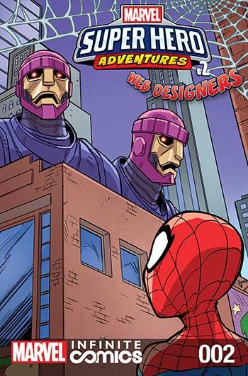 Marvel Super Hero Adventures: Spider-Man - Web Designers Infinite Comic (2019) #2