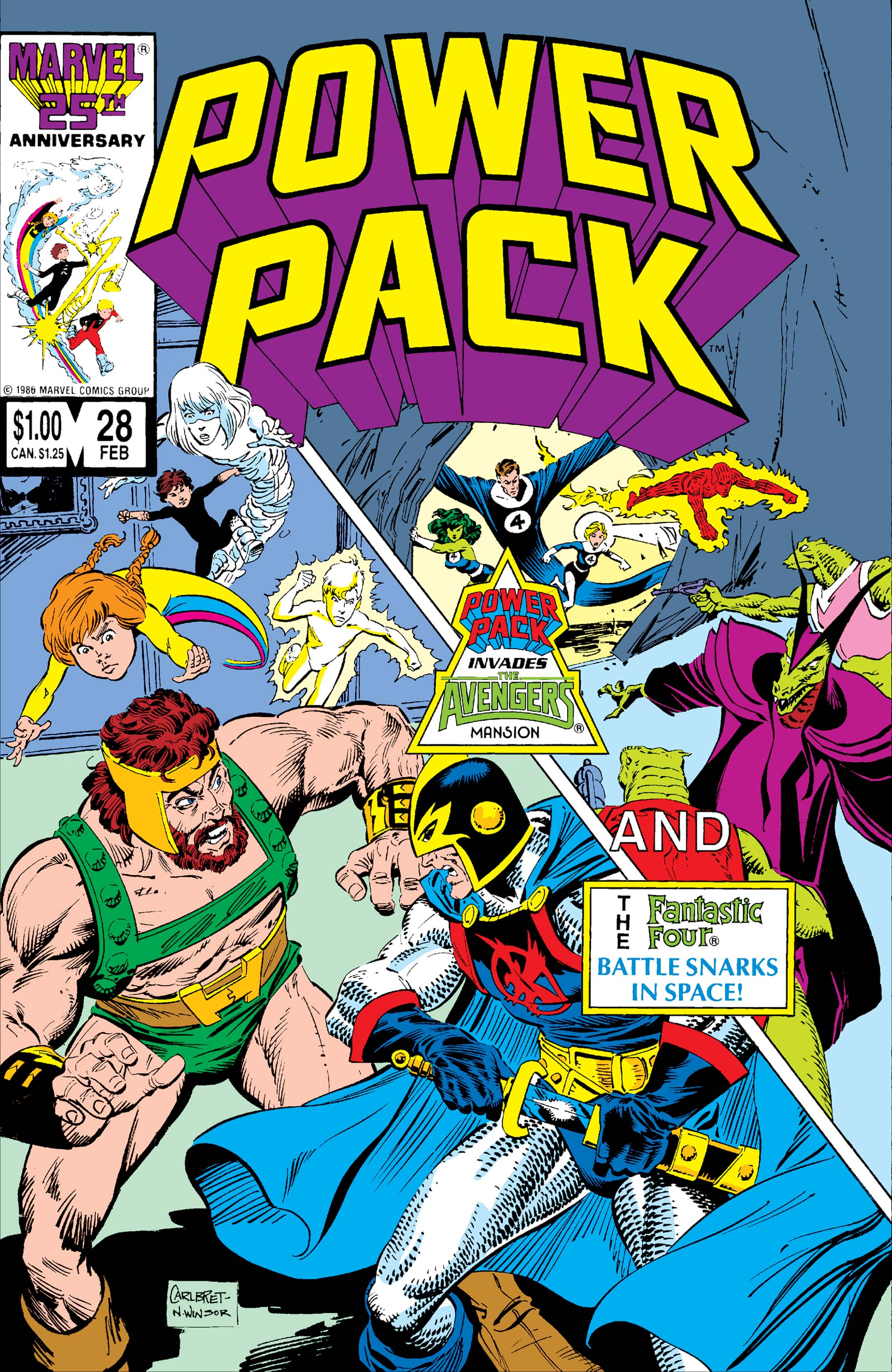 Power Pack (1984) #28