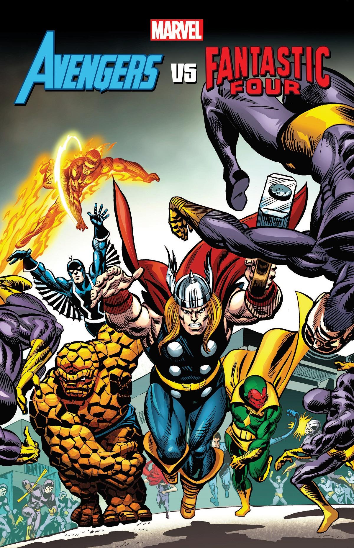 Avengers VS. Fantastic Four (Trade Paperback)