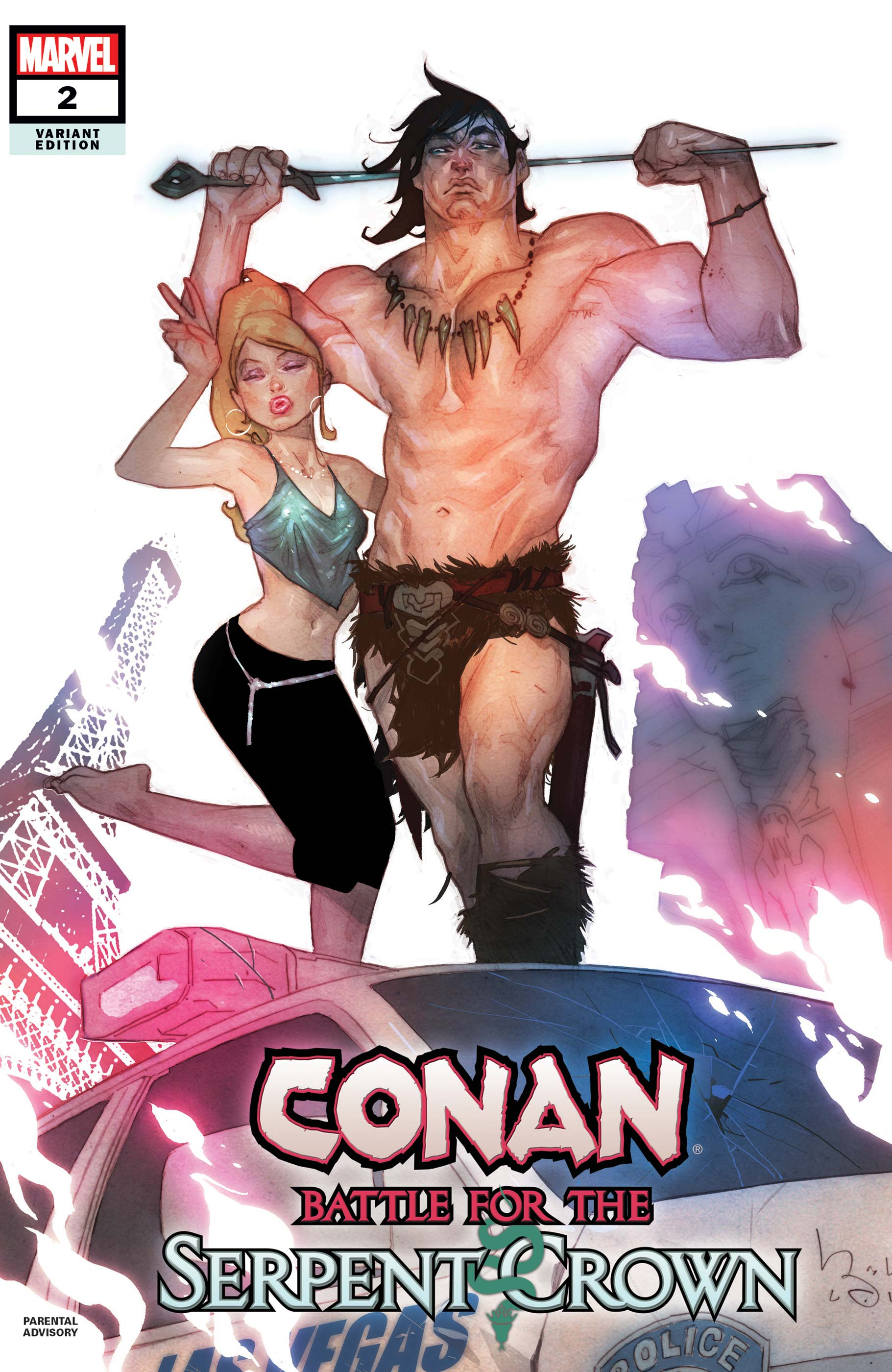 Conan: Battle for the Serpent Crown (2020) #2 (Variant)