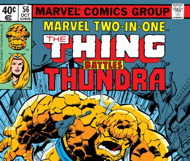 MARVEL TWO-IN-ONE (1974) #56