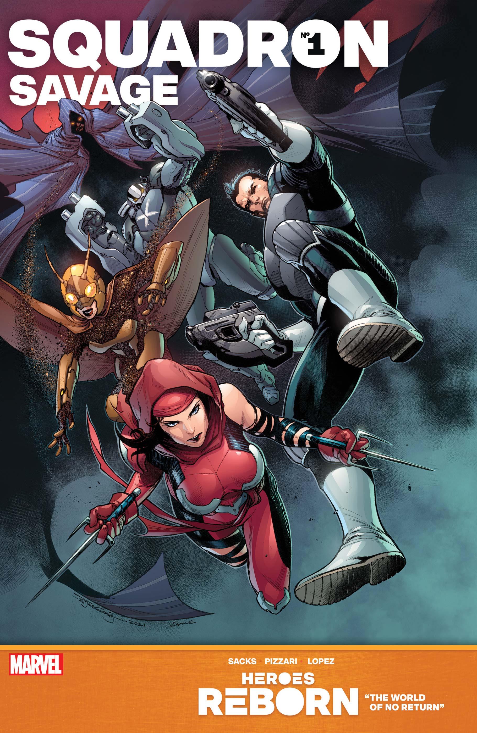 Heroes Reborn: Squadron Savage (2021) #1