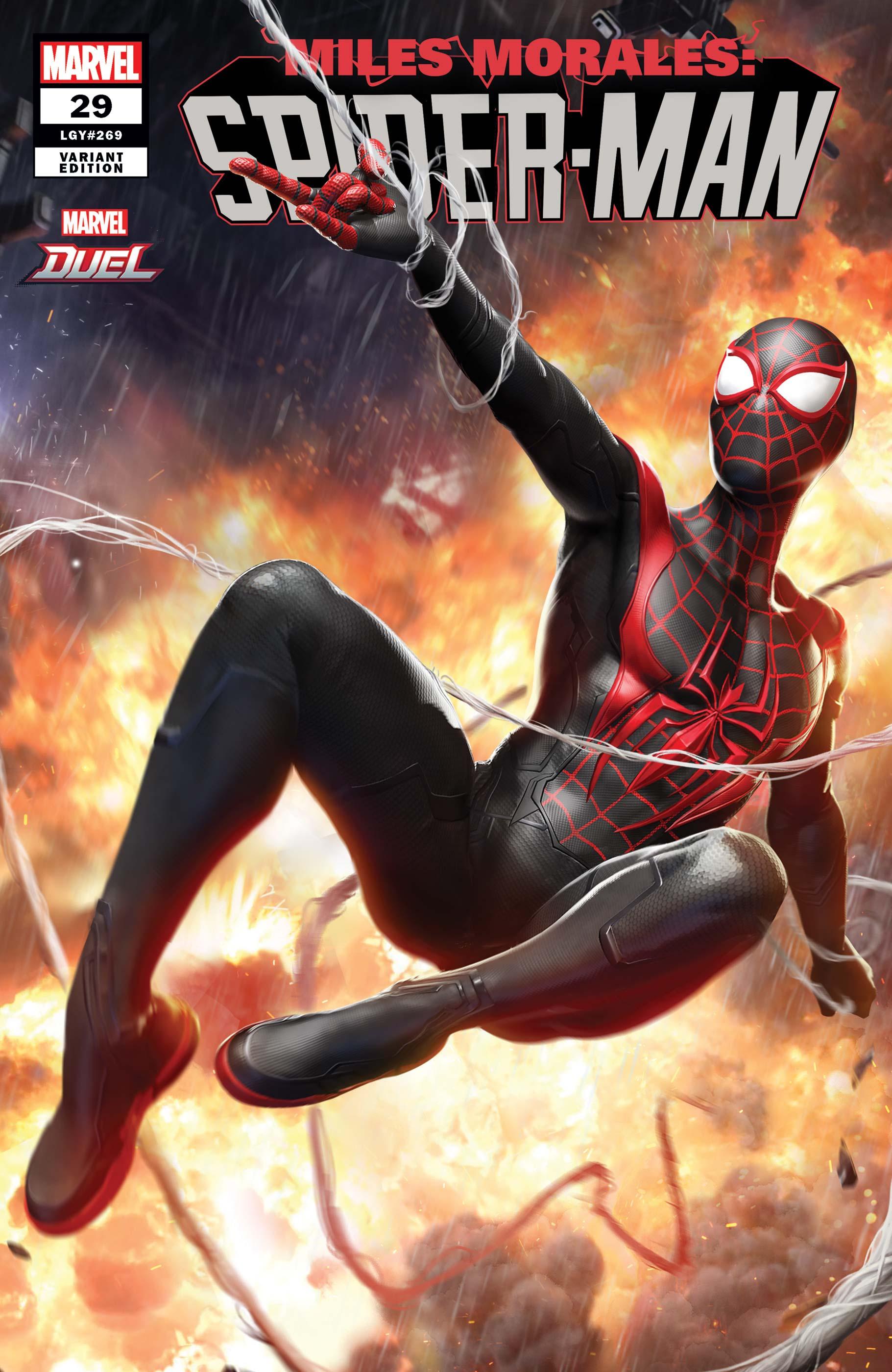 Miles Morales: Spider-Man (2018) #29 (Variant)