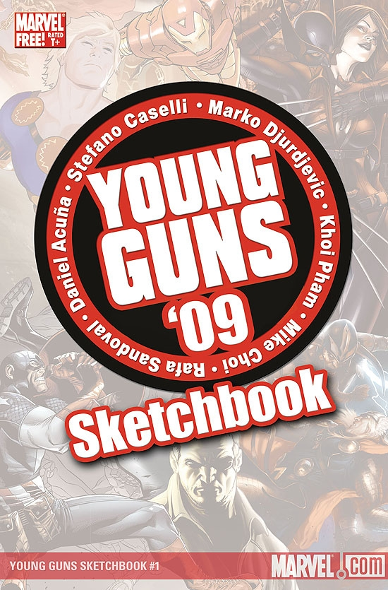 Young Guns Sketchbook (2009) #2