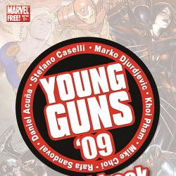 YOUNG GUNS SKETCHBOOK #1