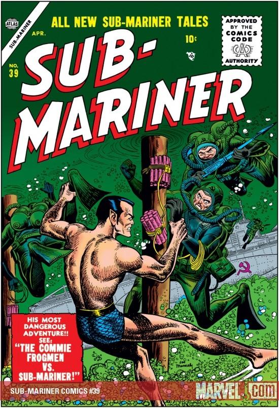 Sub-Mariner Comics (1941) #39