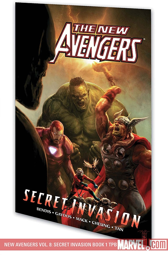 New Avengers Vol. 8: Secret Invasion Book 1 (Trade Paperback)