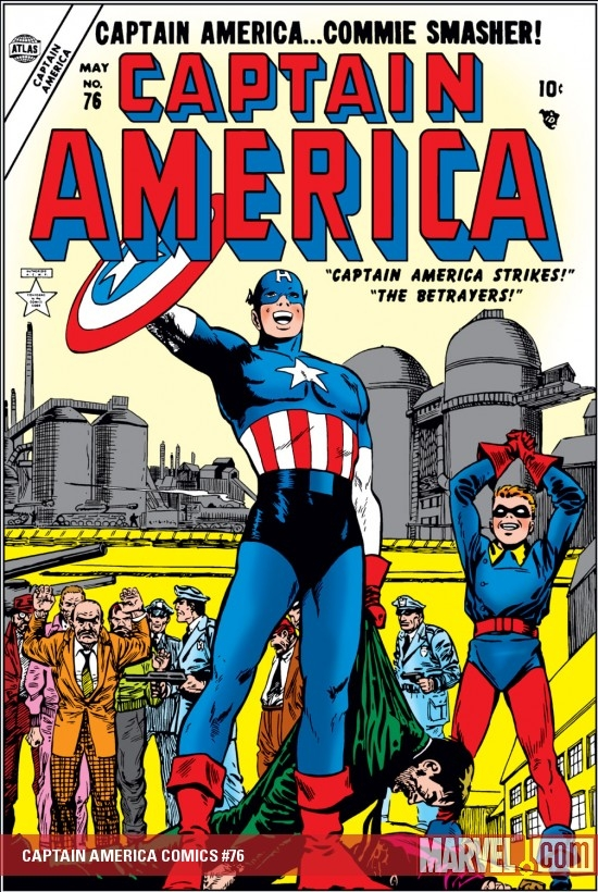 Captain America Comics (1941) #76
