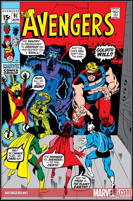 Avengers (1963) #91