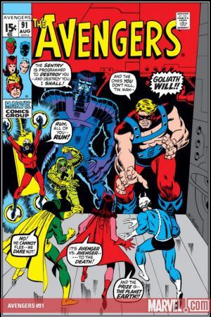 Avengers #91