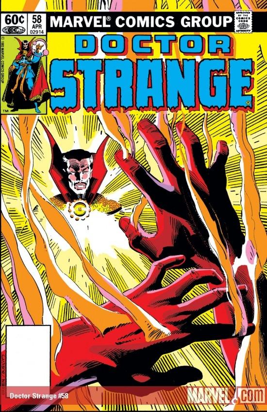 Doctor Strange (1974) #58