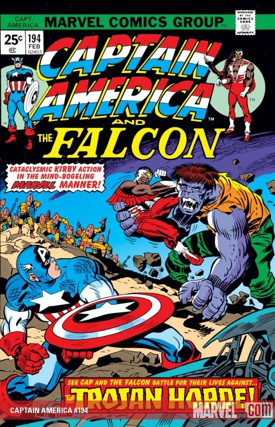 Captain America (1968) #194