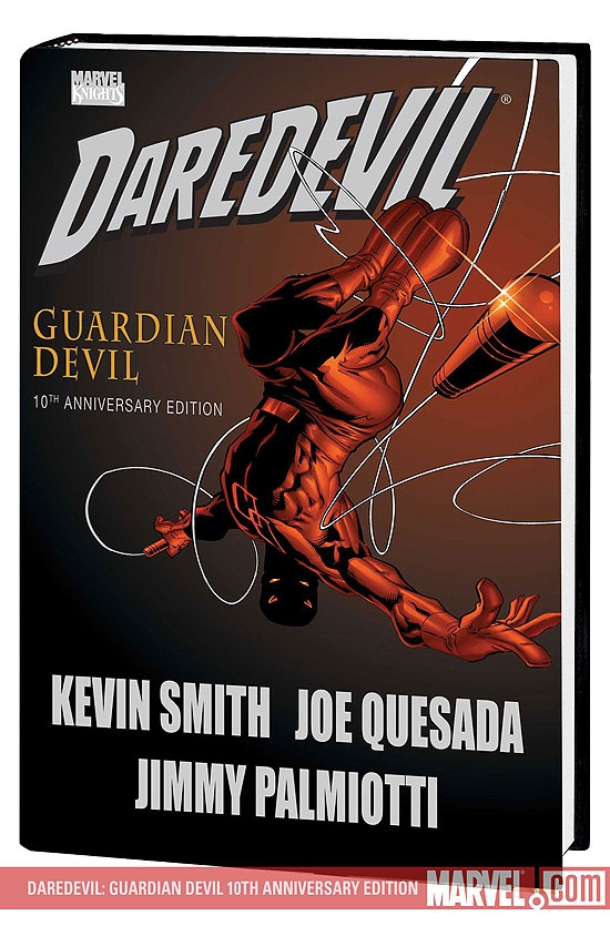 Daredevil: Guardian Devil 10th Anniversary Edition (Hardcover)