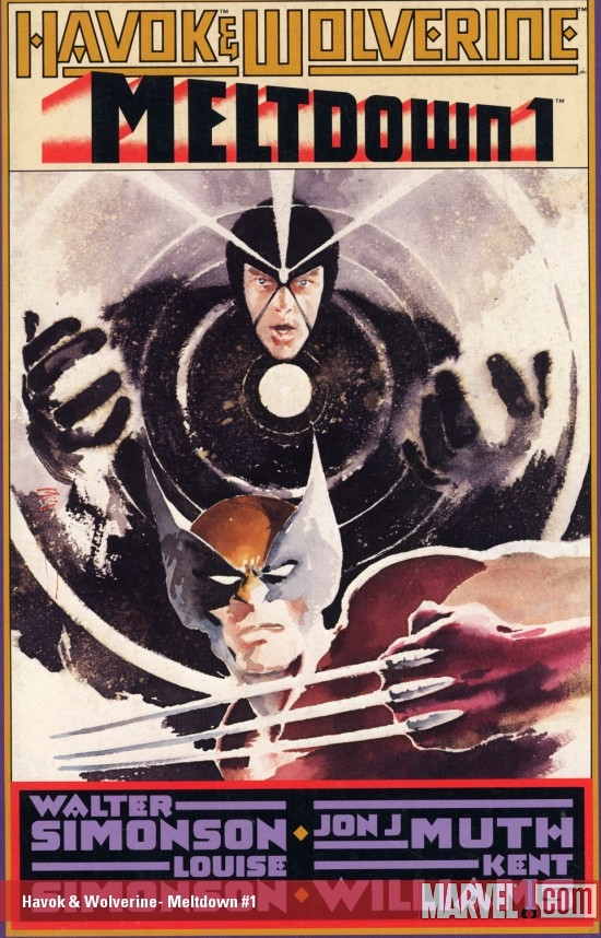 Havok & Wolverine: Meltdown (1988) #1