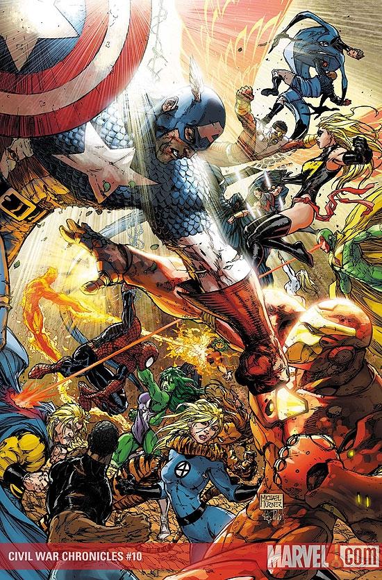 Civil War Chronicles (2007) #10