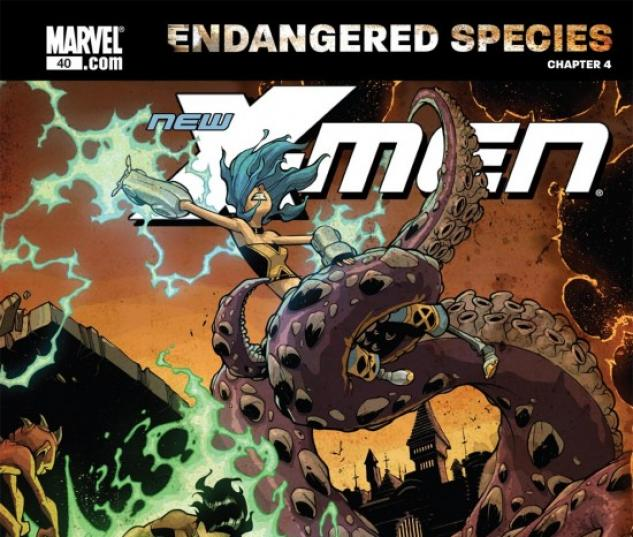 X-MEN: ENDANGERED SPECIES BACK-UP STORY #4