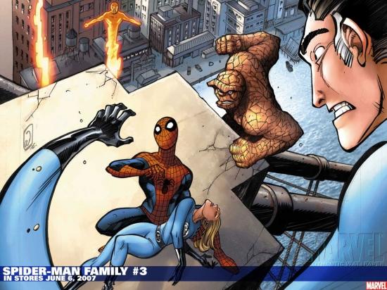 Spider-Man Family (2007) #3 Wallpaper