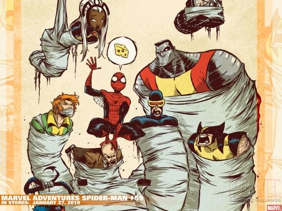 Marvel Adventures Spider-Man (2005) #59 Wallpaper