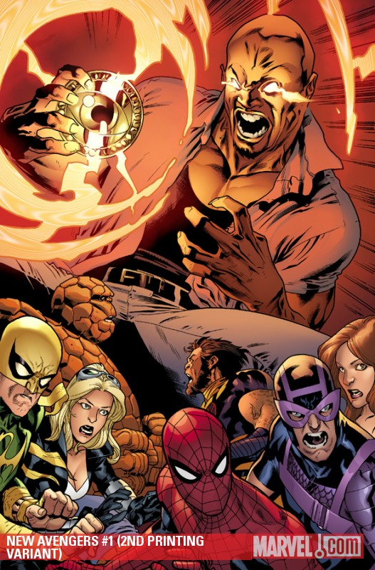 New Avengers (2010) #1 (2ND PRINTING VARIANT)
