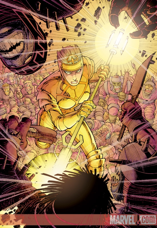 Eternals (2006) #6 (John Romita Jr. Variant)