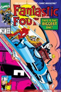 Fantastic Four #341
