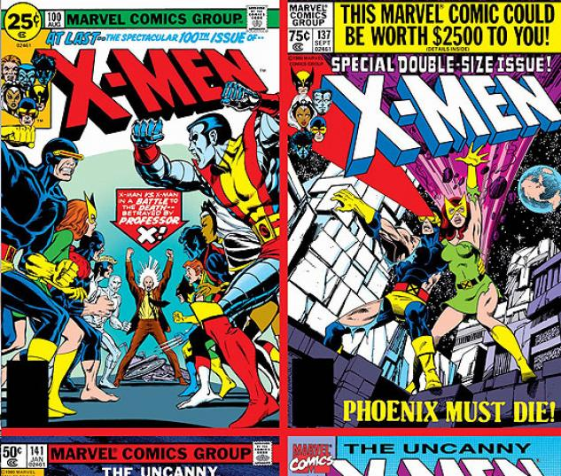 UNCANNY X-MEN 500 ISSUES POSTER BOOK #0