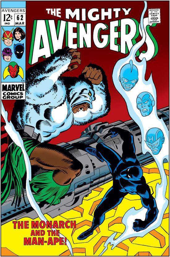 Avengers (1963) #62