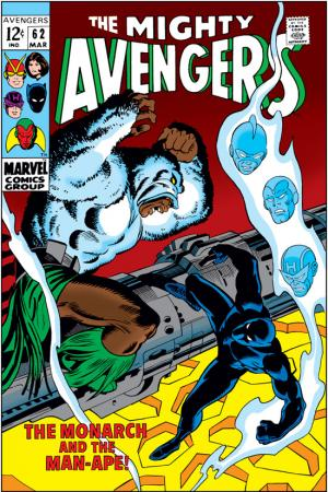 Avengers #62