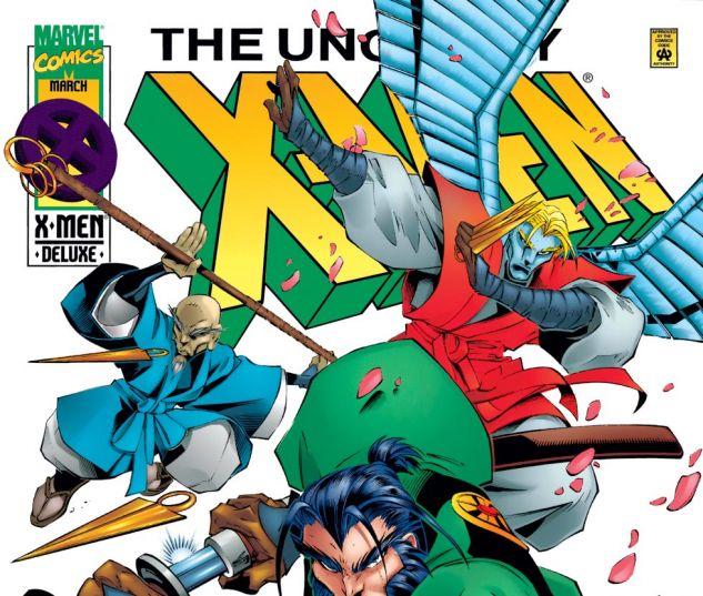Uncanny X-Men (1963) #330 Cover