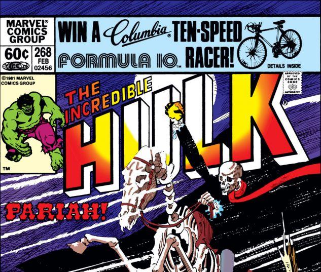 Incredible Hulk (1962) #268 Cover