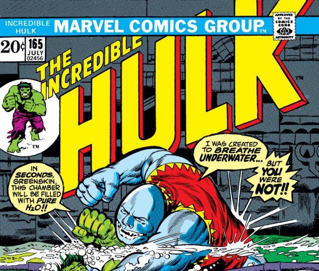 Incredible Hulk (1962) #165 Cover