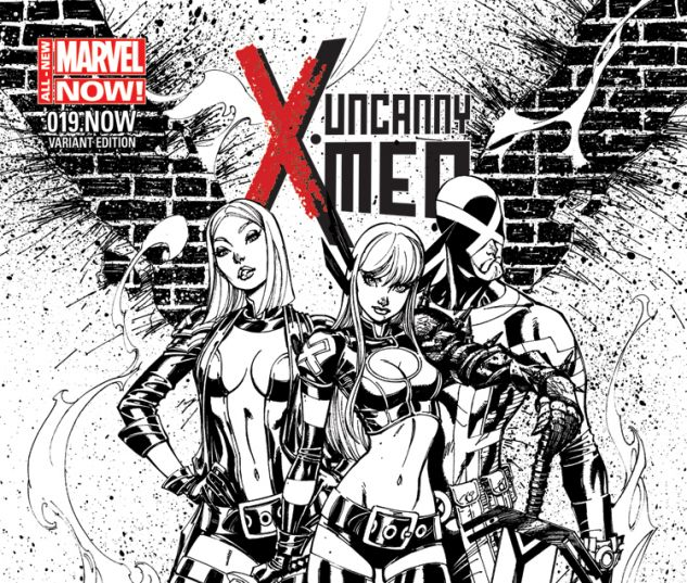 UNCANNY X-MEN 19.NOW CAMPBELL SKETCH VARIANT (ANMN, WITH DIGITAL CODE)