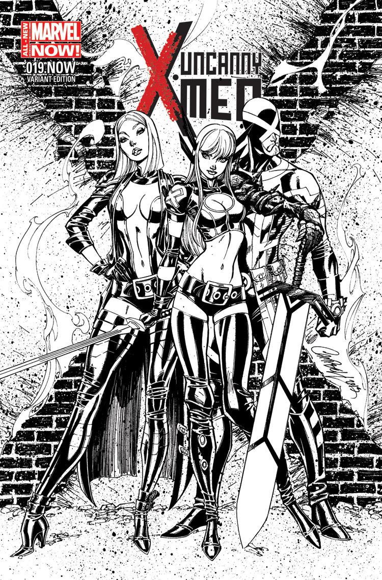 Uncanny X-Men (2013) #19 (Campbell Sketch Variant)