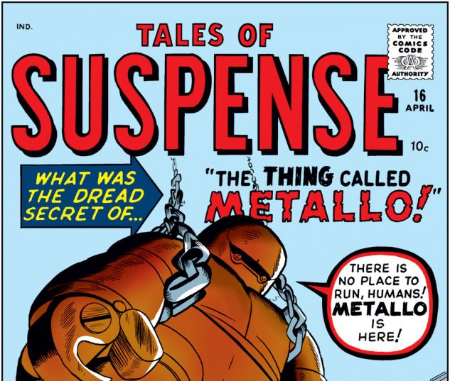 Tales of Suspense (1959) #16 Cover