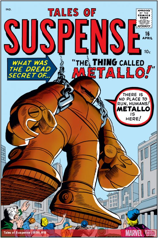 Tales of Suspense (1959) #16