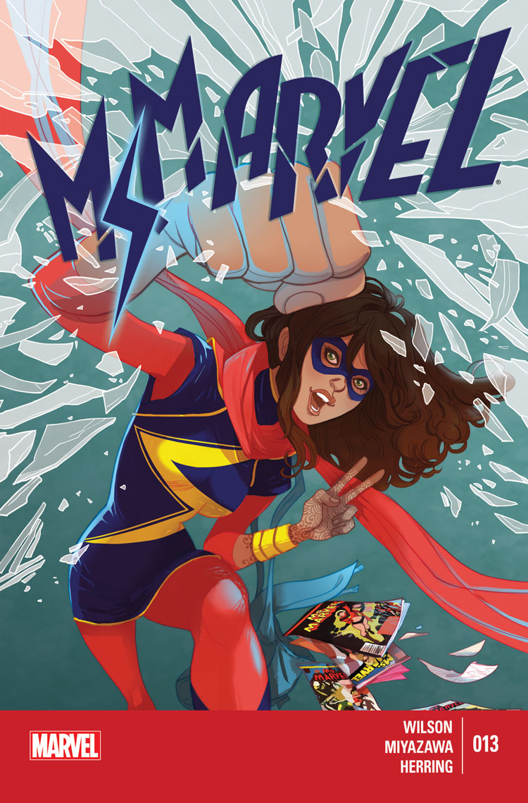 Ms. Marvel (2014) #13