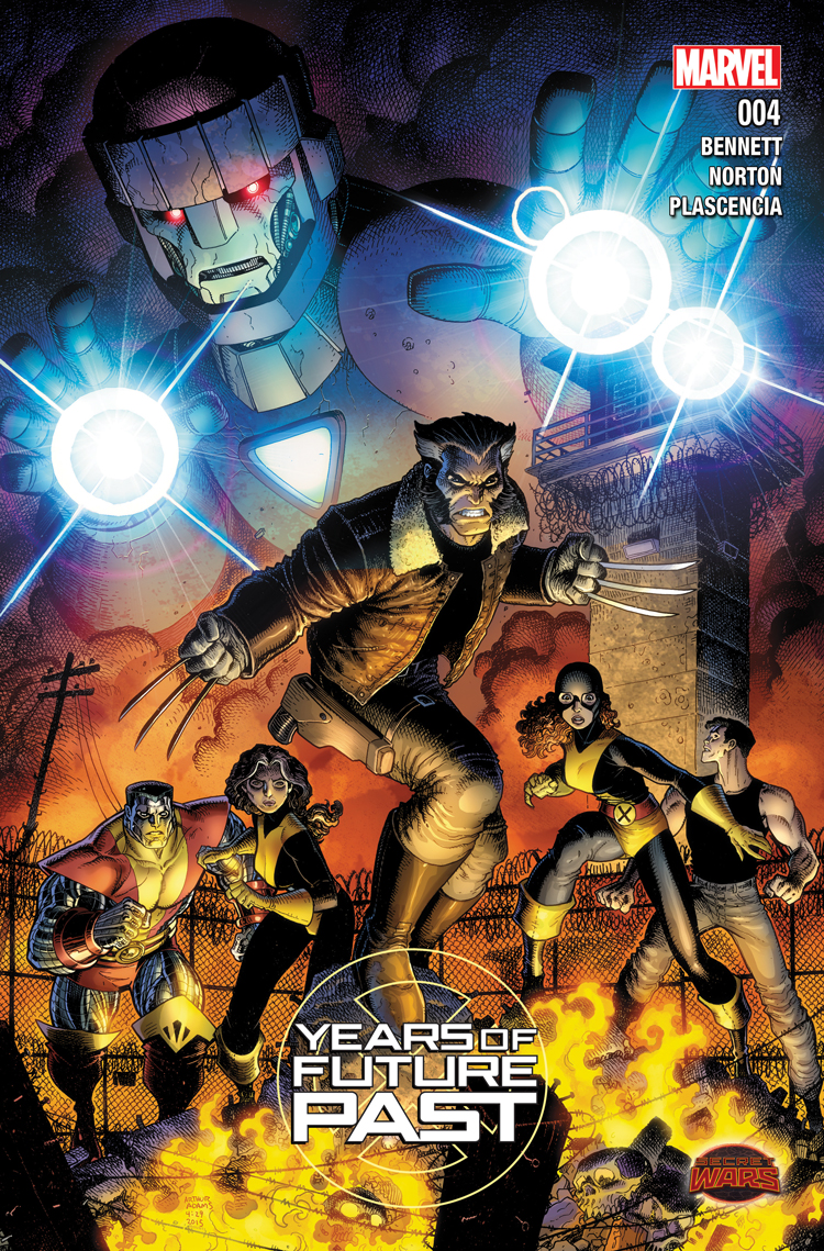 Years of Future Past (2015) #4