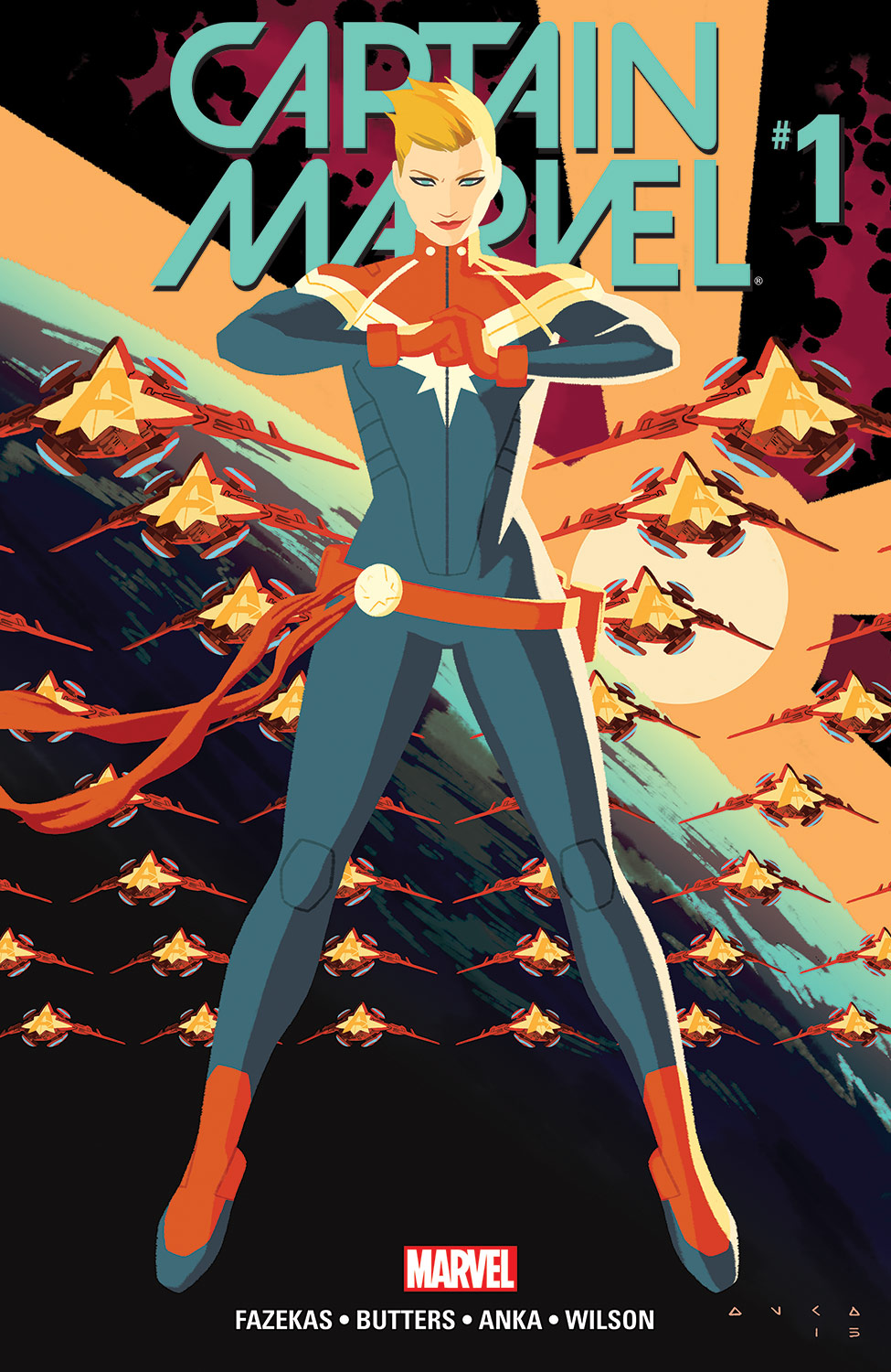 captain marvel (2016) #1 | comics | marvel