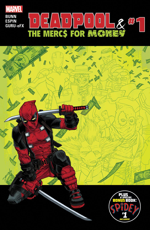 Deadpool & The Mercs For Money (2016) #1